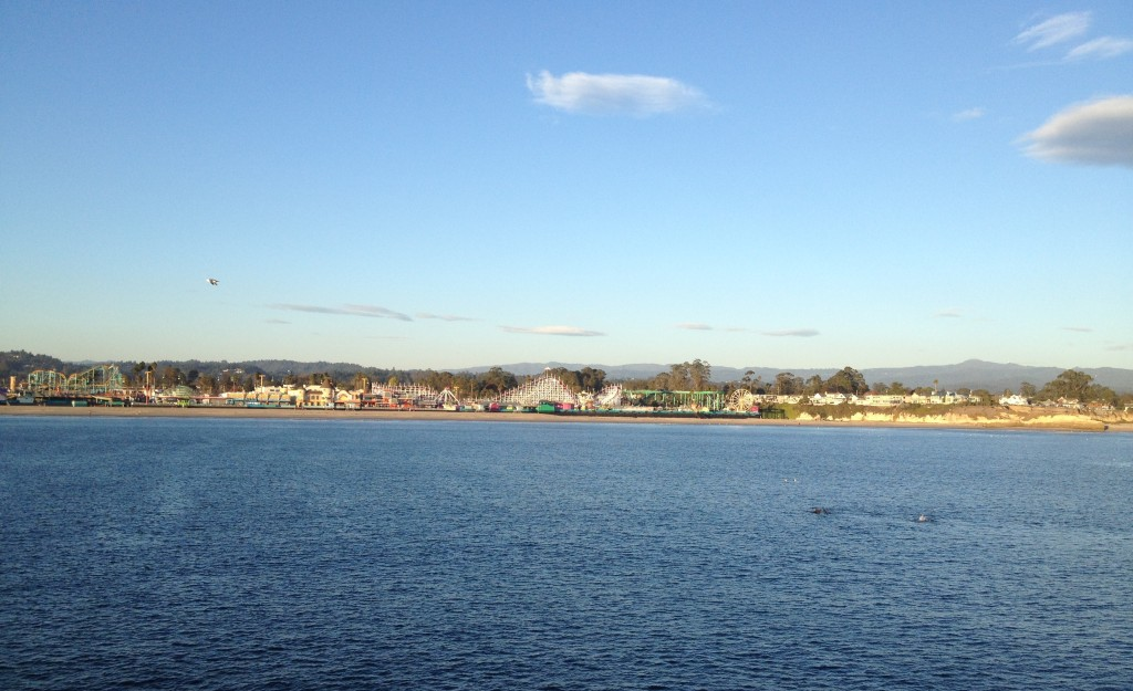 View from Santa Cruz Wharf
