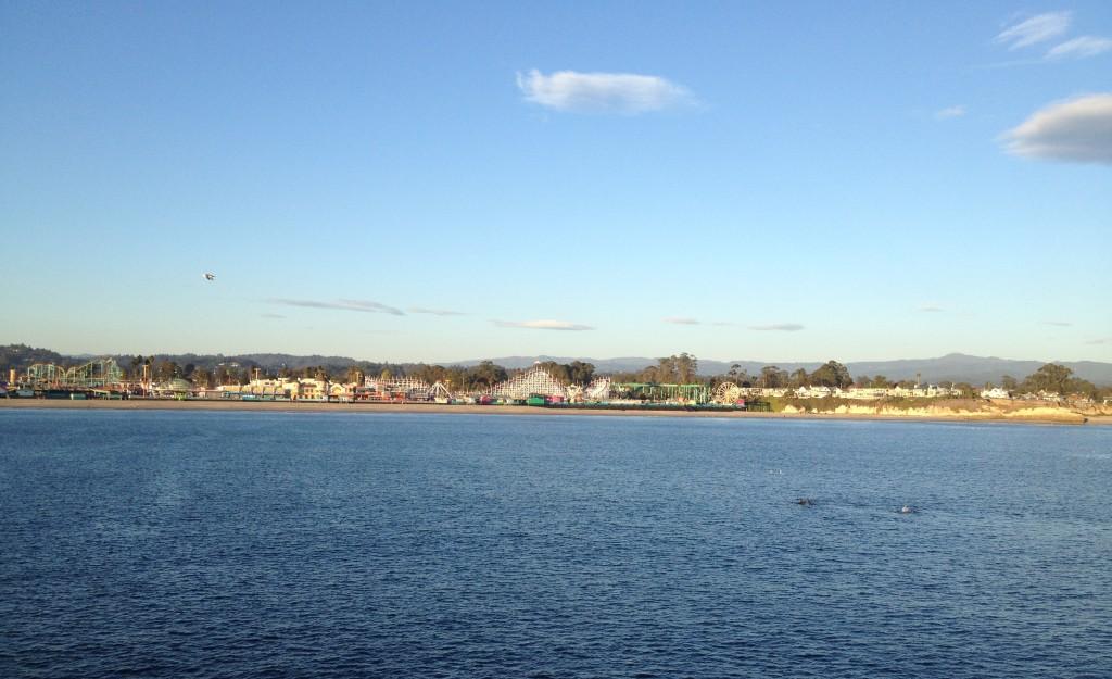 View from Santa Cruz Wharf